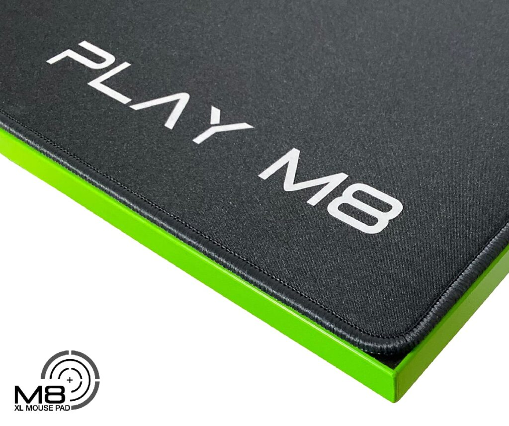 XXL Mouse Pad - 4mm - Play M8 Gaming