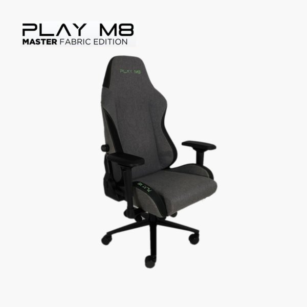 Master Gaming Chair - Dark Grey Fabric