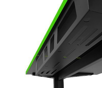 Cable Management - Gaming Desk - Play M8 Gaming - Steel Cable Tray