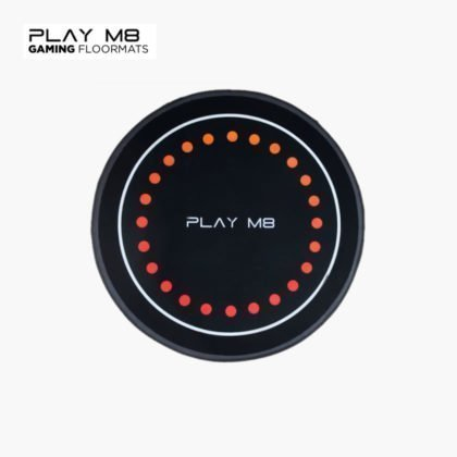 Play M8 Gaming Floor Mats – Red