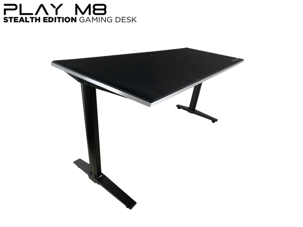 RGB Gaming Desk - in Aluminium - Play M8 Gaming