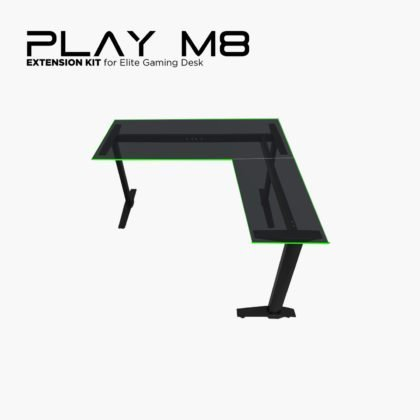 Play M8 Gaming Desk Extension Kit