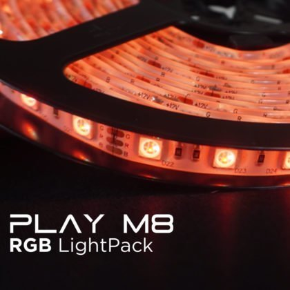 Play M8 Gaming RGB LightPacks