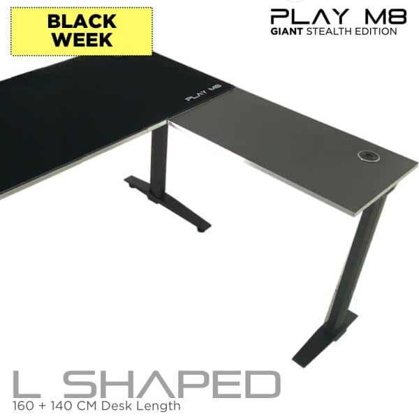 Corrner Gaming Desk - Black Friday - Play M8