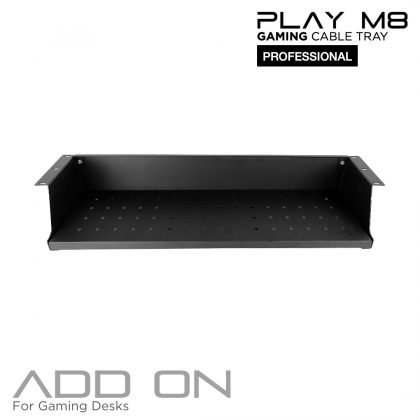 Steel Cable Tray – for Gaming Desks –  110 CM