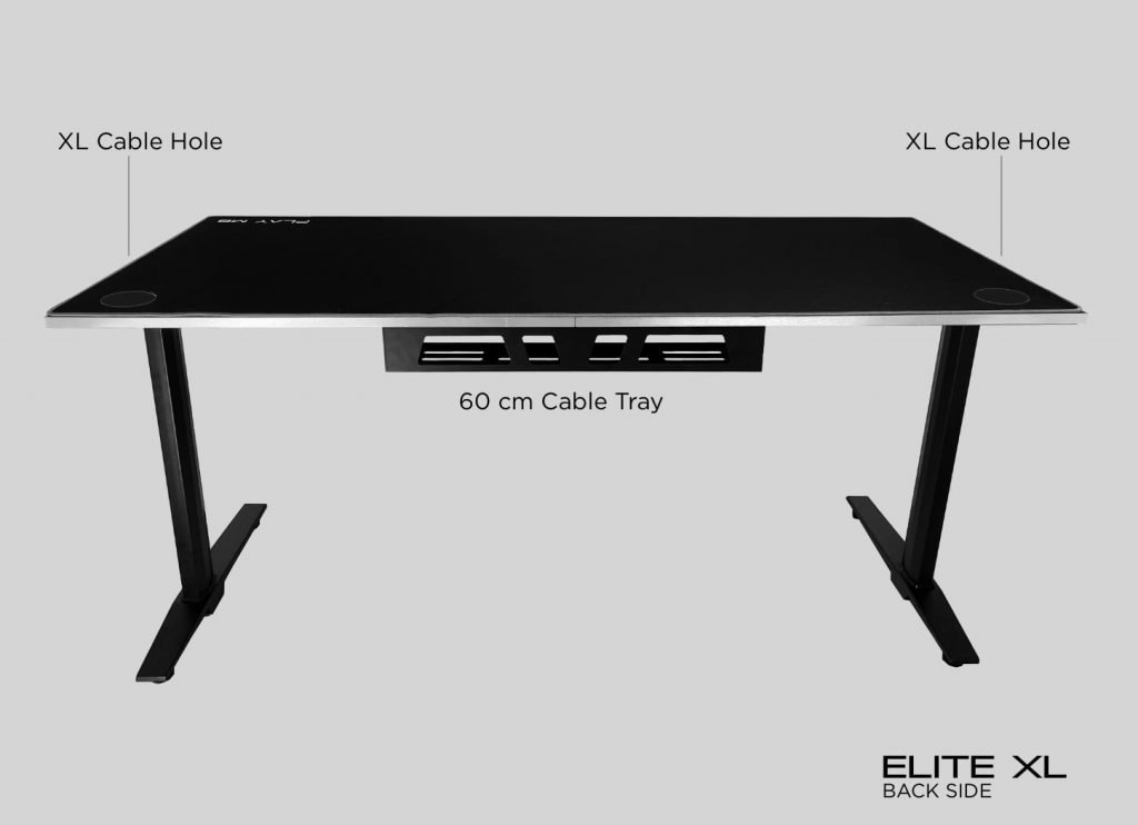 Elite XL - Gaming Desk Dimension - Play M8