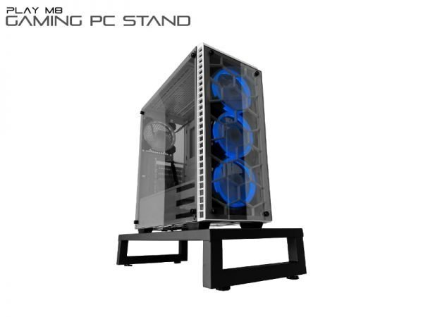 Gaming PC Stand - w. PC - AIrr Ventilated design - Play M8