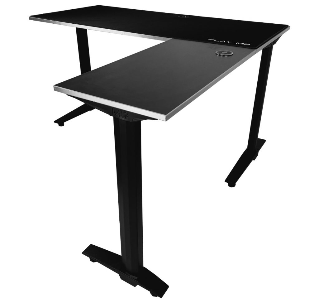 L Shaped Gaming Desk - Play M8 - Gaming Table