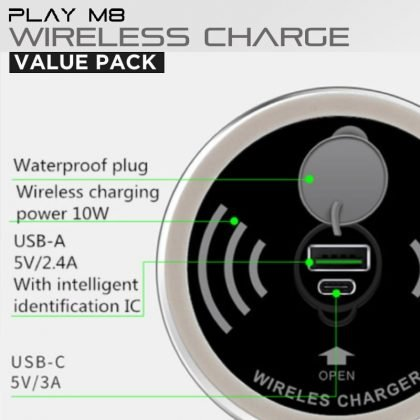 Wireless Charger. Gaming Desk. Value Pack