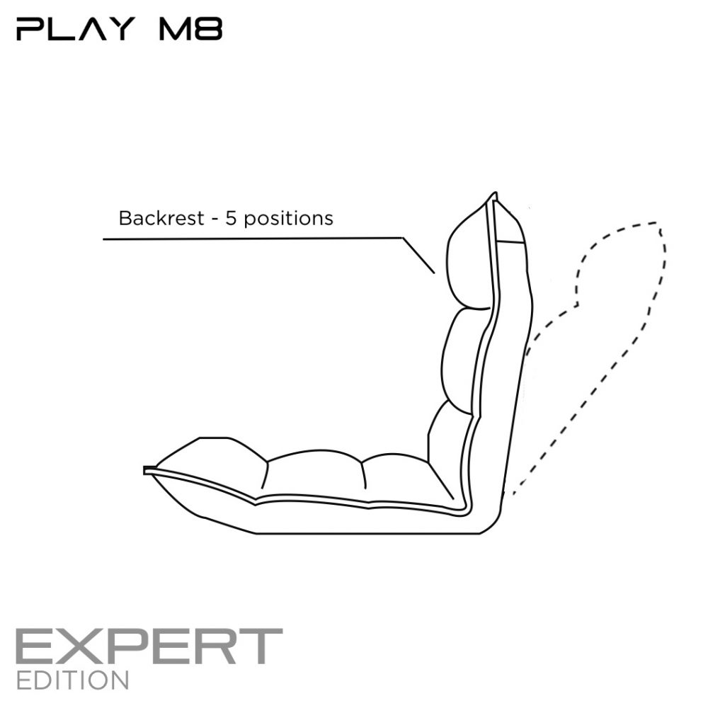 Gaming Seat features. Play M8