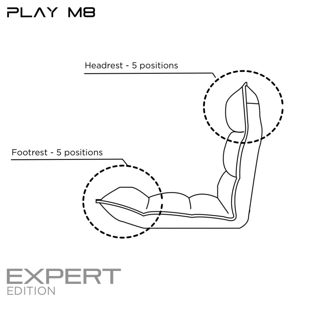 Console Gaming Chair. Specification. Play M8
